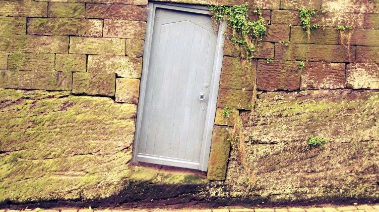 Slanted Doorway