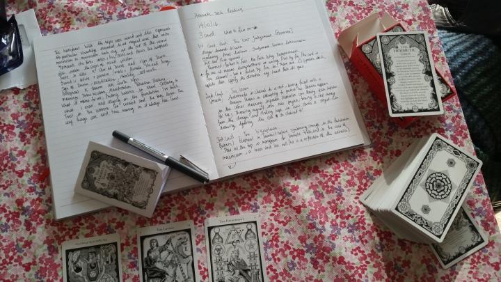 3 card tarotspread
