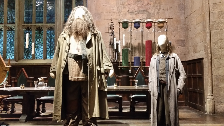 Hagrid and Filtch
