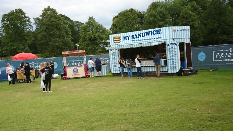 Sandwich stand