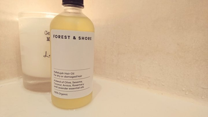 Forest and shore Hallelujah hair oil | review
