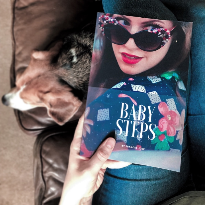 'Baby Steps' paperback – OutNow!